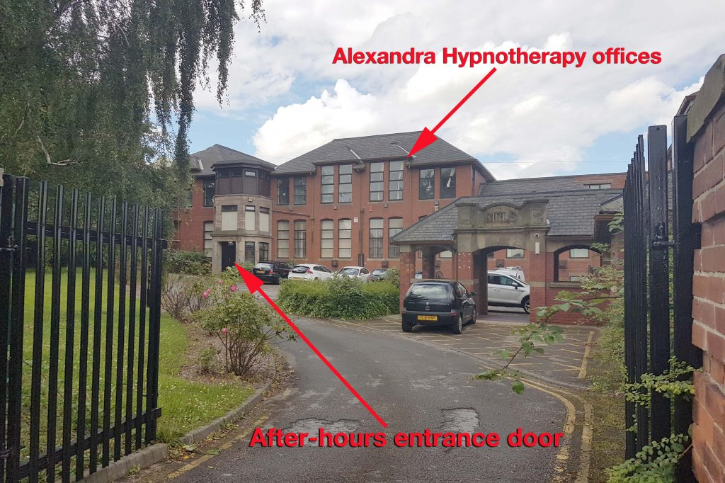 The new office of Alexandra Hypnotherapy within the Mexborough Business Centre